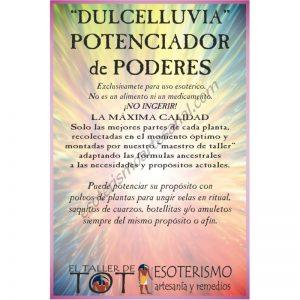 DULCELLUVIA -*- POTENCIA PODERES