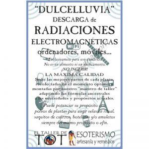 DULCELLUVIA -*- RADIACIONES