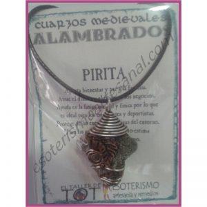 COLGANTE MEDIEVAL ALAMBRADO -*- PIRITA