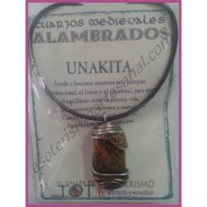 COLGANTE MEDIEVAL ALAMBRADO -*- UNAKITA