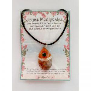 JOYA MEDIEVAL AGATA - ESMERALDA 01