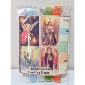 Ritual 4 ARCÁNGELES - Protección del HOGAR - Velitas