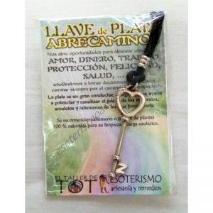 LLAVE ABRECAMINOS - plata - 01