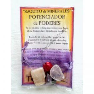 SAQUITO MINERALES - POTENCIADOR de PODERES