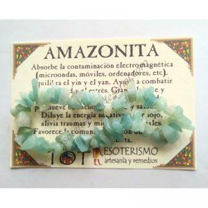 PULSERA chips - AMAZONITA