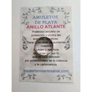 ANILLO ATLANTE - Amuleto en plata