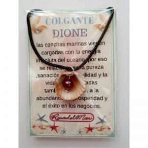 COLGANTE DIONE - CONCHA con PERLA