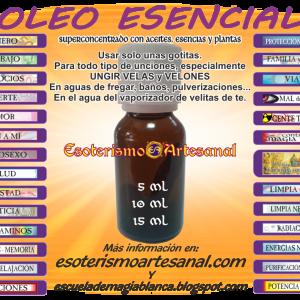 ACEITES, OLEOS y ESENCIAS NATURALES