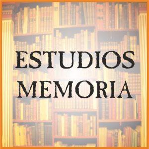 ESTUDIOS - MEMORIA