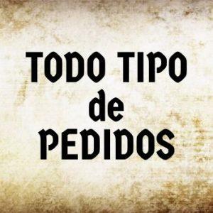 TODO TIPO DE PEDIDOS